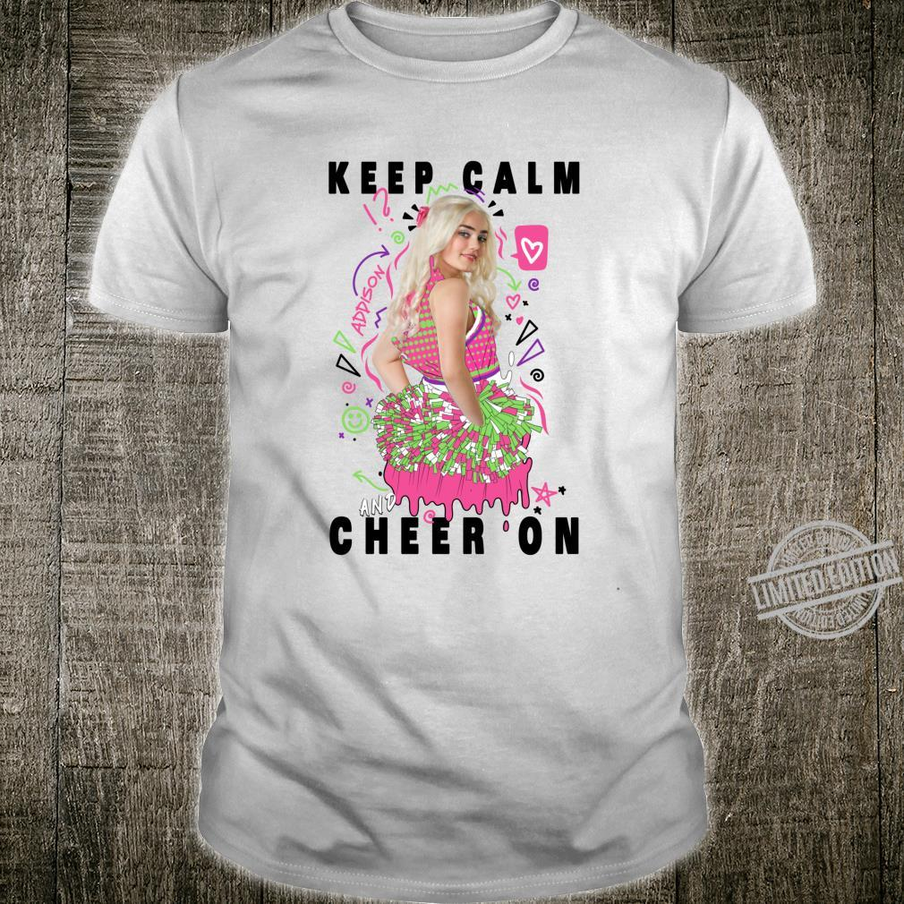 Disney Channel Zombies 2 Addison Keep Calm and Cheer On Shirt