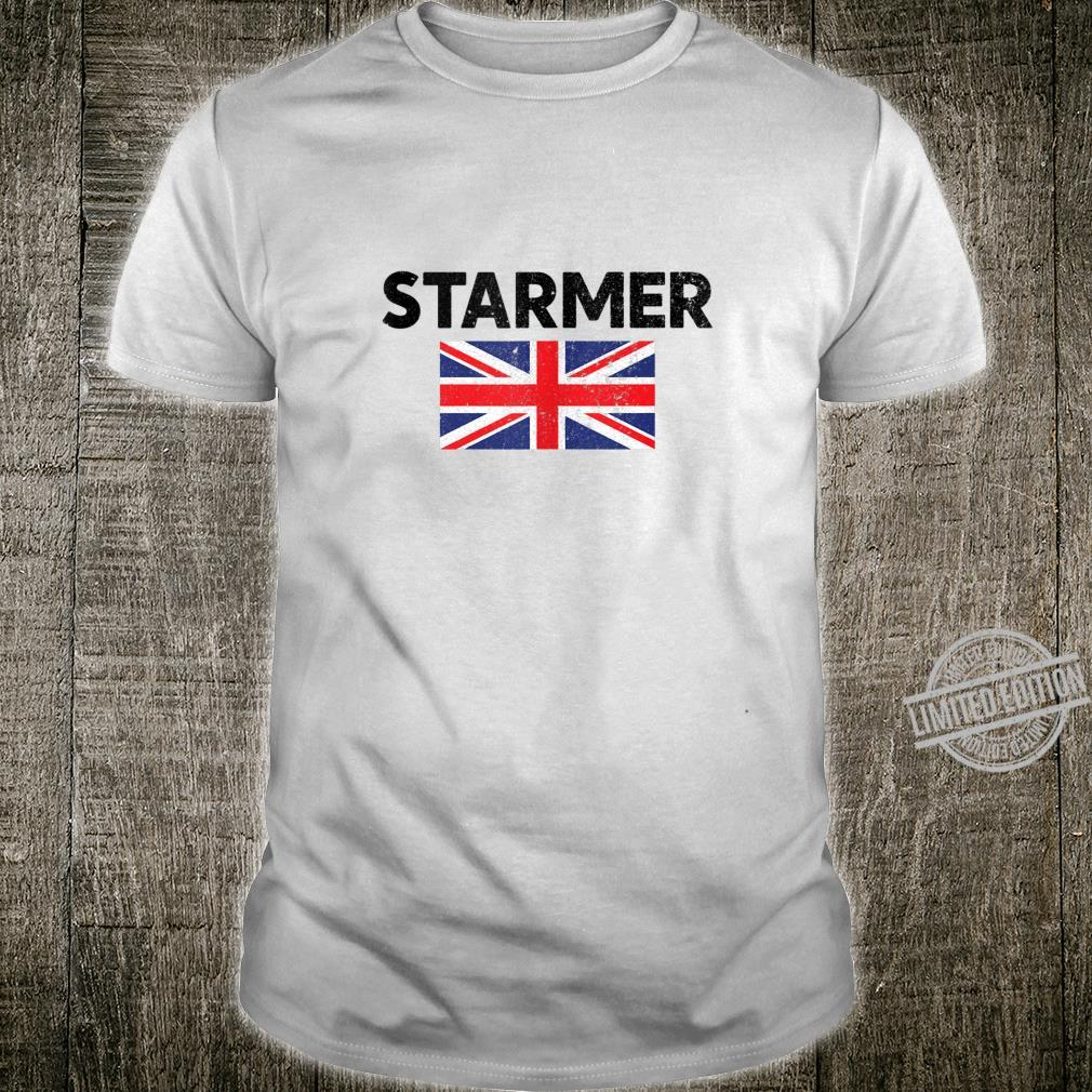 Distressed British Flag Keir Starmer Shirt