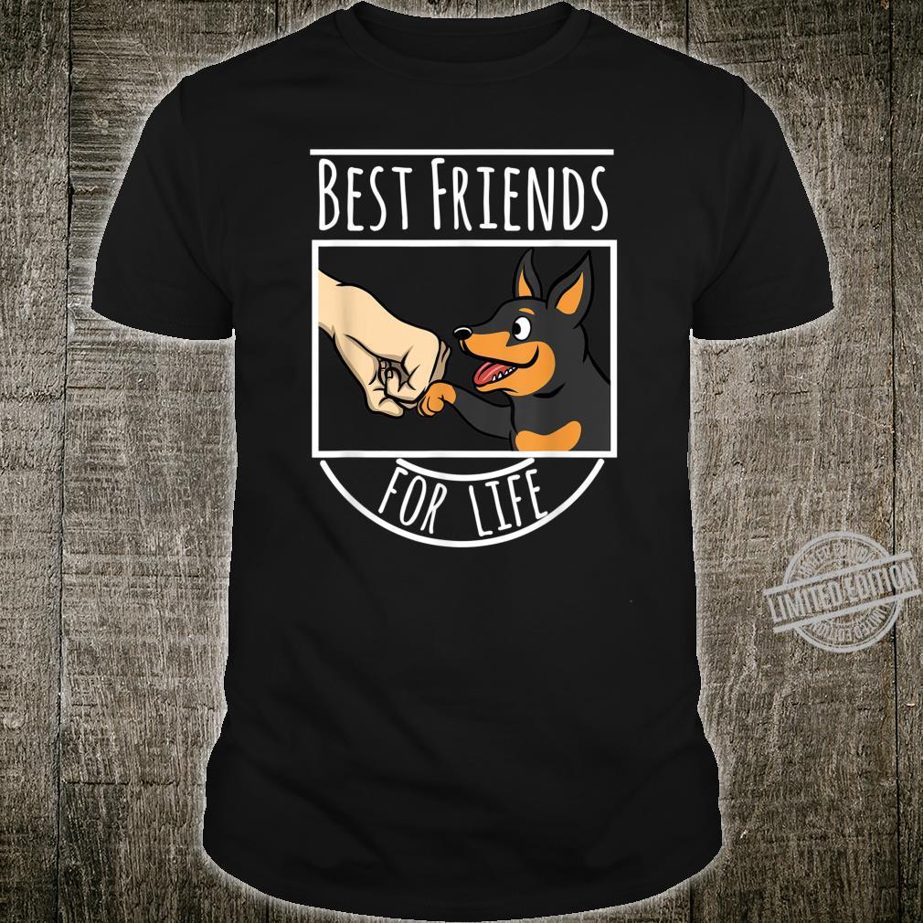 Dwarf Pinscher Best Friends For Life Dog Shirt