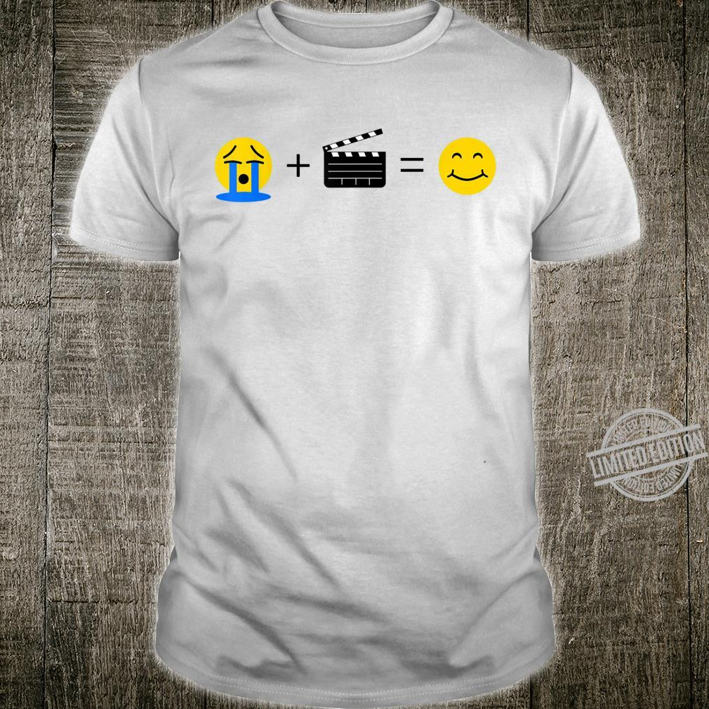 Filmemacher Emoji Lustiges Kino macht mich glücklich Shirt