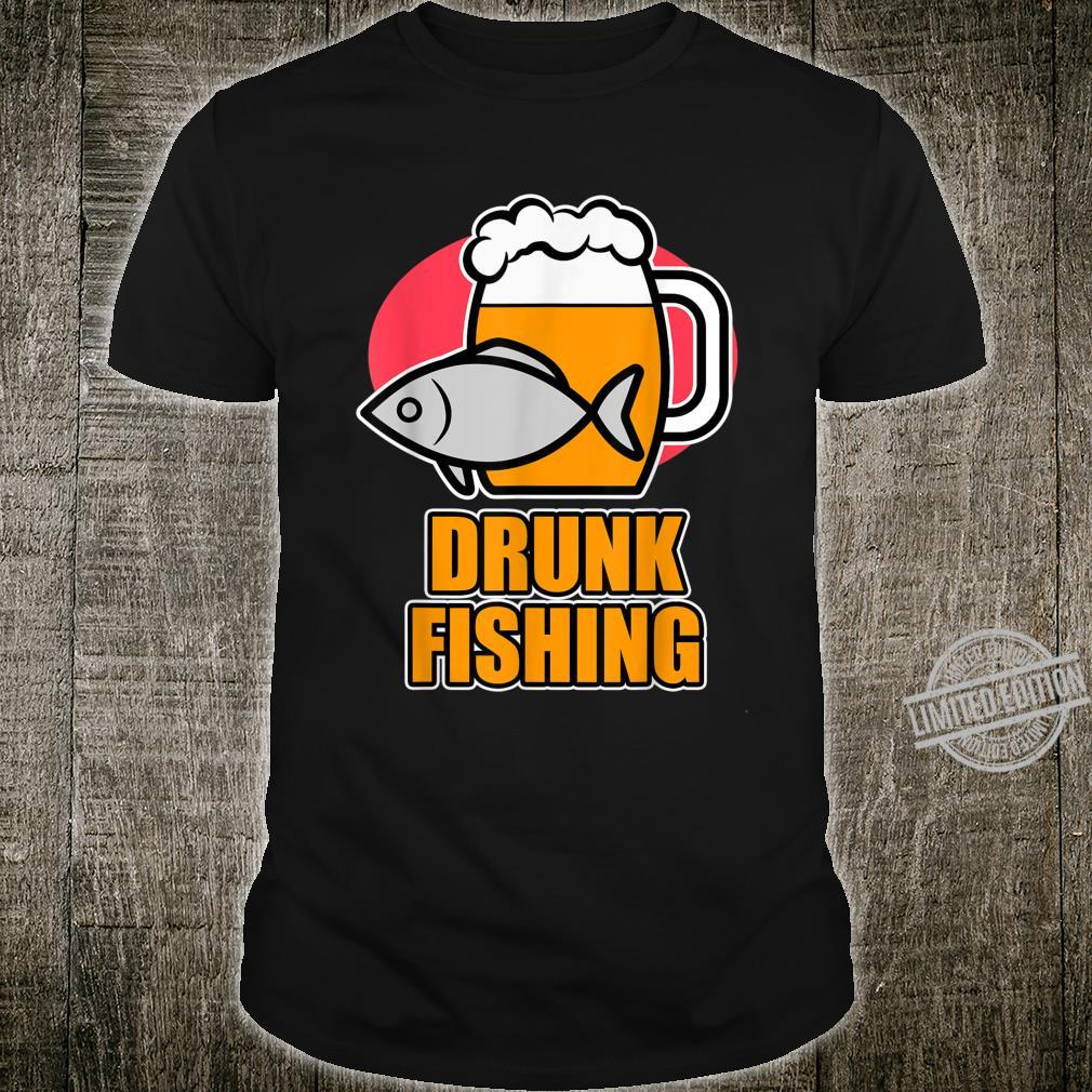 Fishing and Beer Designs and Drunk Fishing Shirt