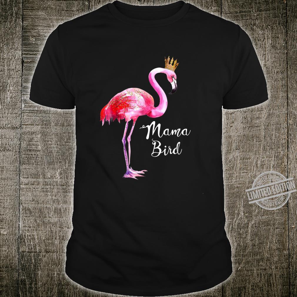 Flamingo Mama Bird Shirt