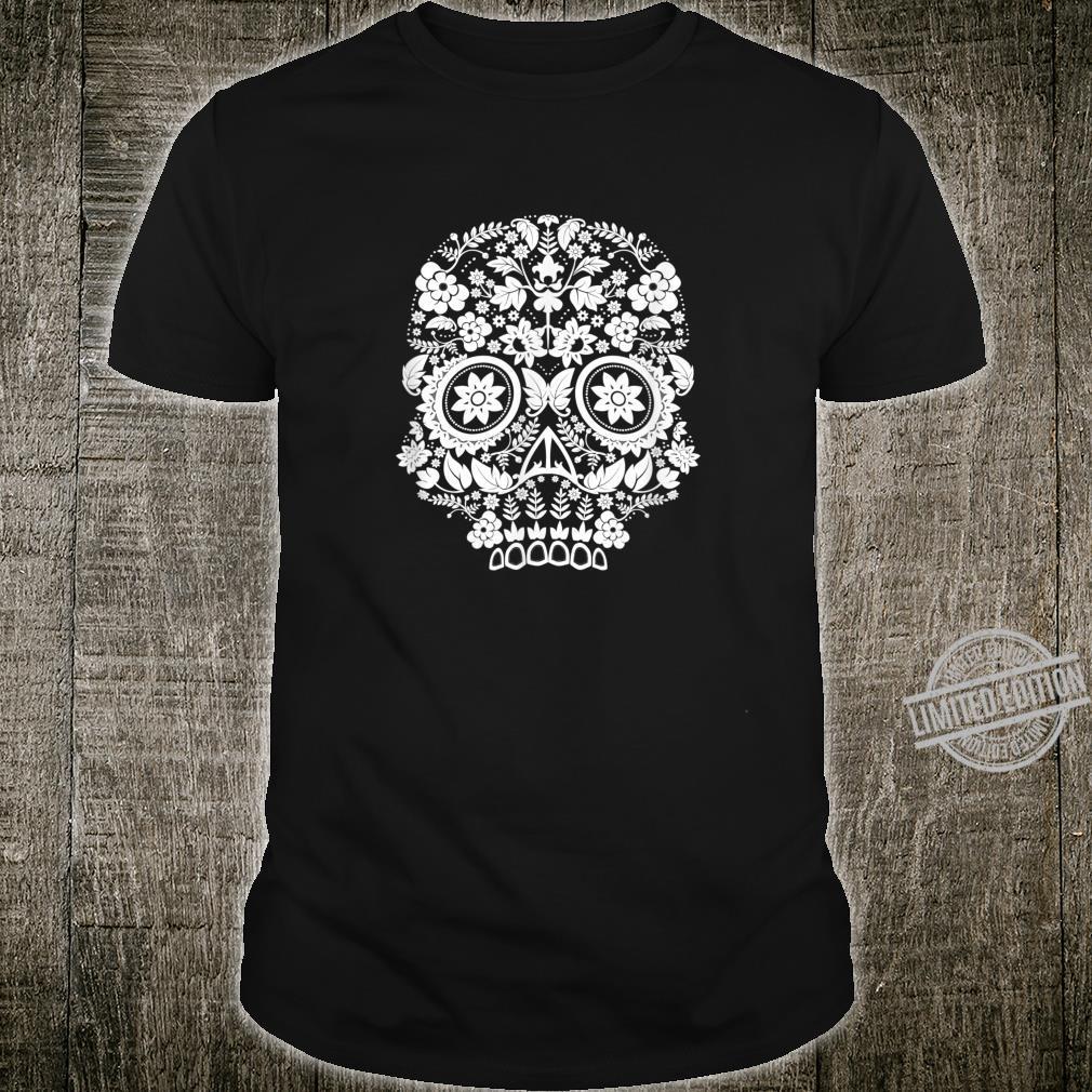 Flower Sugar Skull Day of the Dead Shirt
