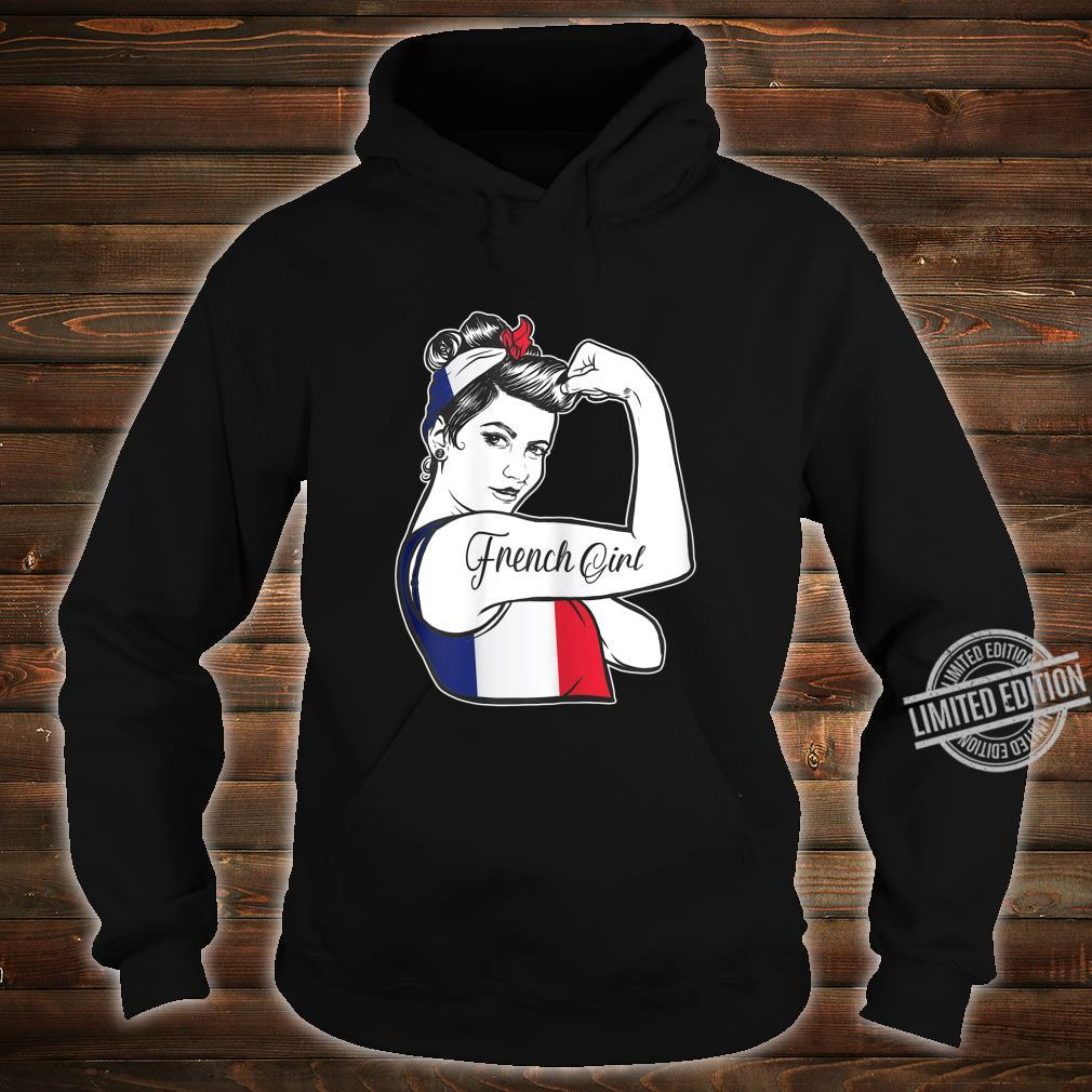 French Pride Rosie The Riveter 's France Shirt hoodie
