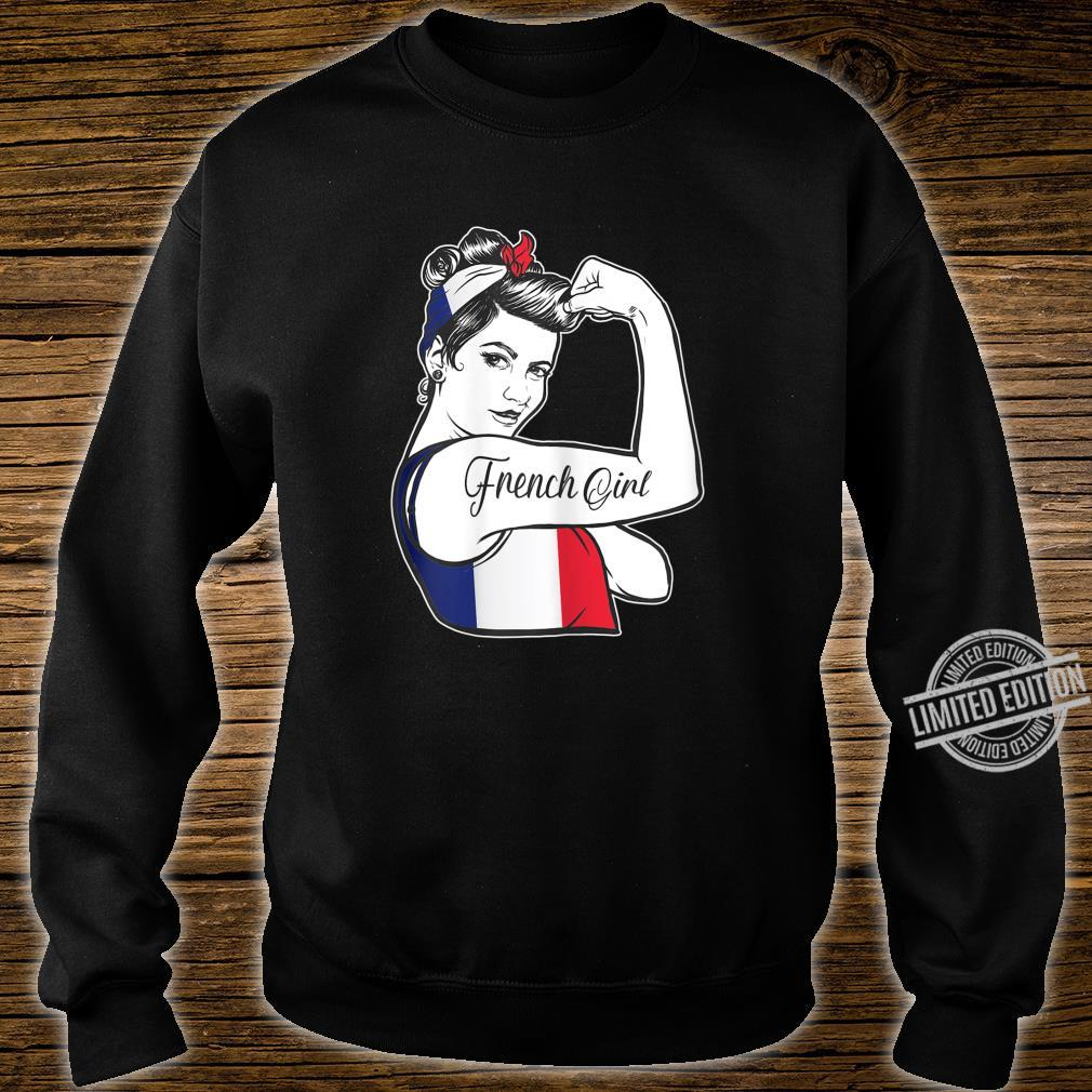 French Pride Rosie The Riveter 's France Shirt sweater