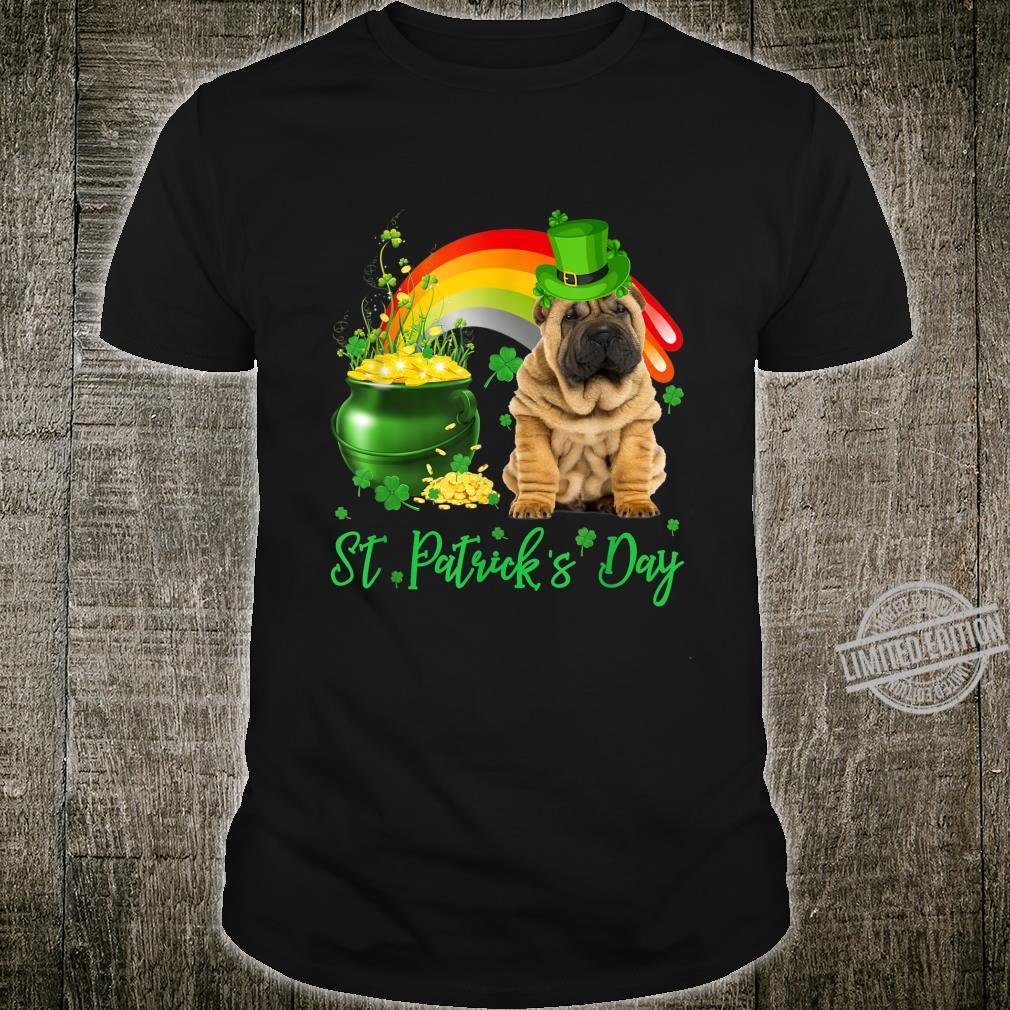 Funny SharPei St Patricks Day Shirt