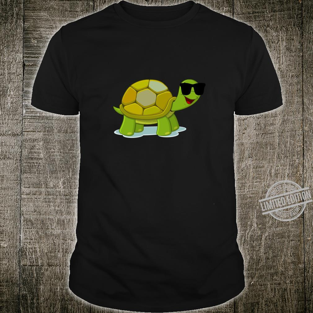 Funny Turtle Wearing Sunglasses Shirt