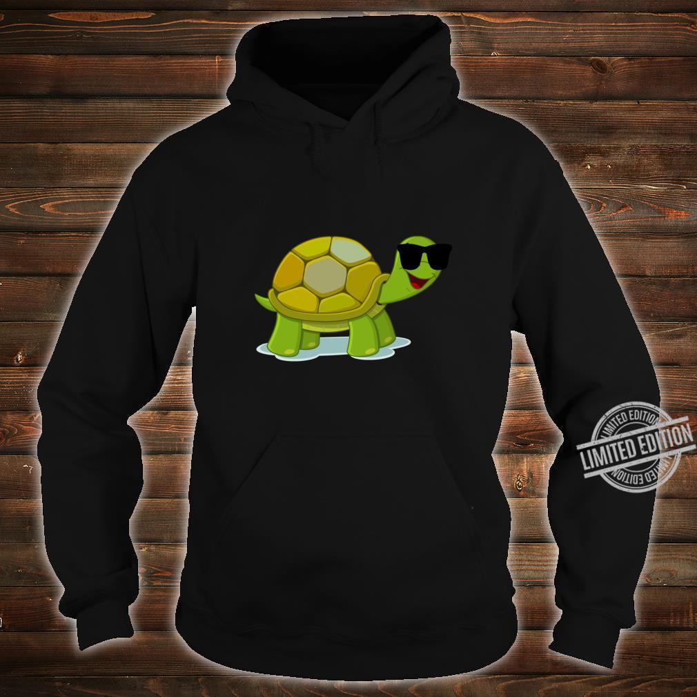 Funny Turtle Wearing Sunglasses Shirt hoodie