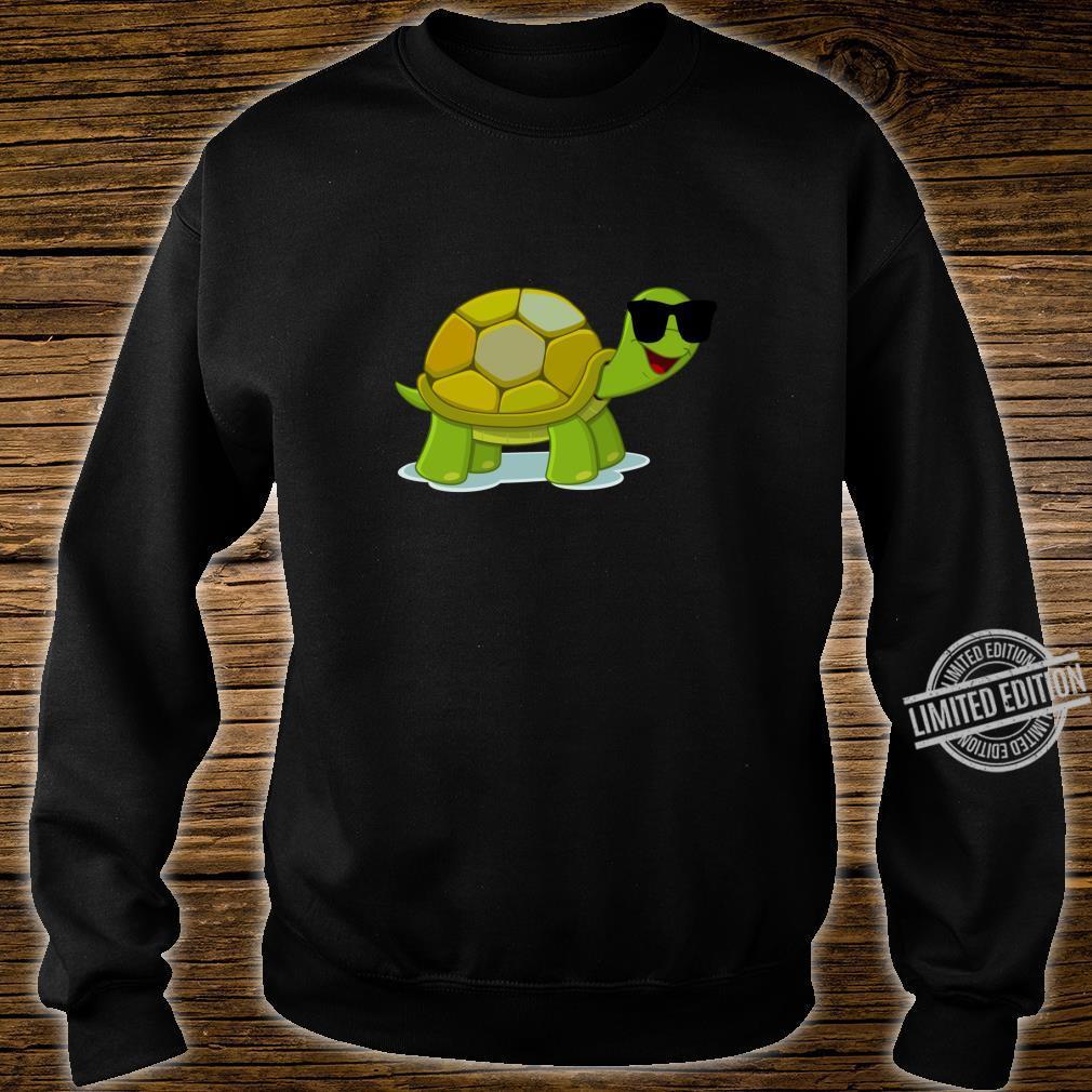 Funny Turtle Wearing Sunglasses Shirt sweater