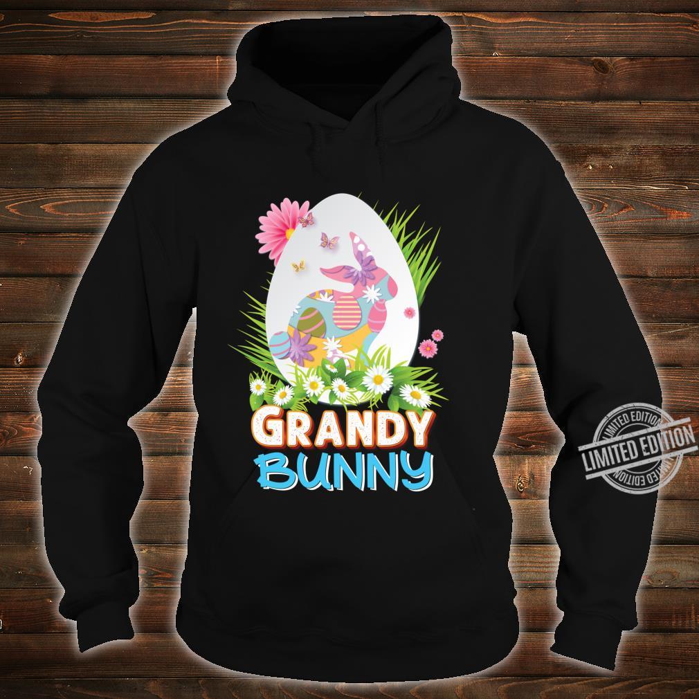 Grandy Bunny Cute Matching Family Rabbit Easter Egg Hunt Shirt hoodie