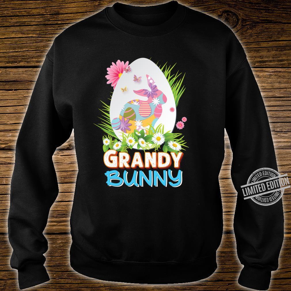 Grandy Bunny Cute Matching Family Rabbit Easter Egg Hunt Shirt sweater