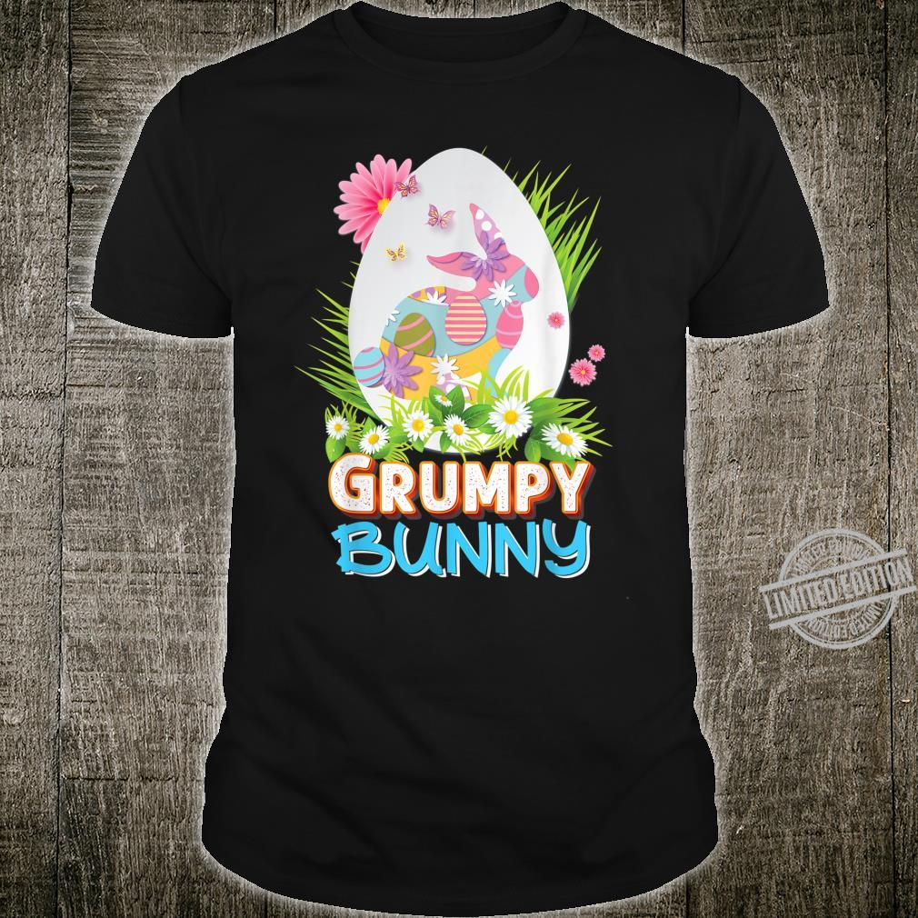 Grumpy Bunny Cute Matching Family Rabbit Easter Egg Hunt Shirt