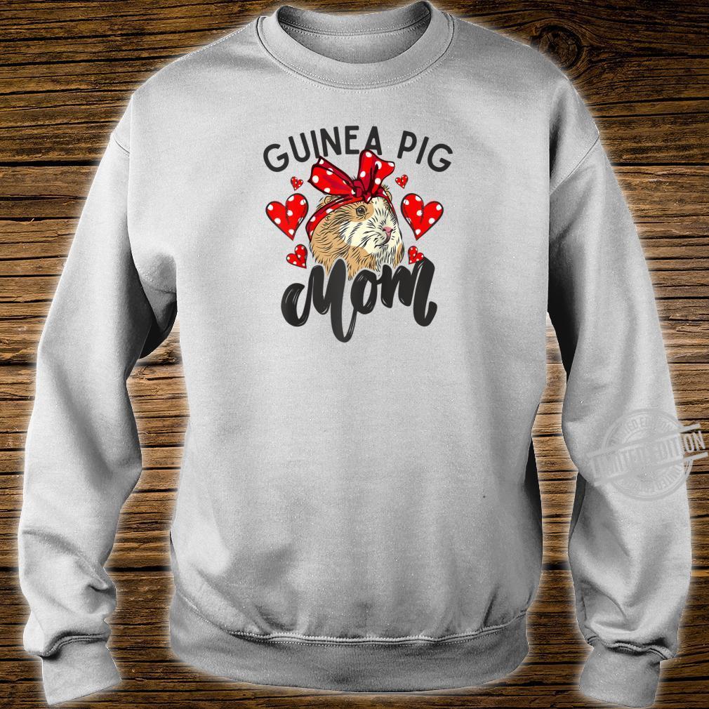 Guinea Pig Mom Bandana Hearts Cute Fluffy Pet Shirt sweater