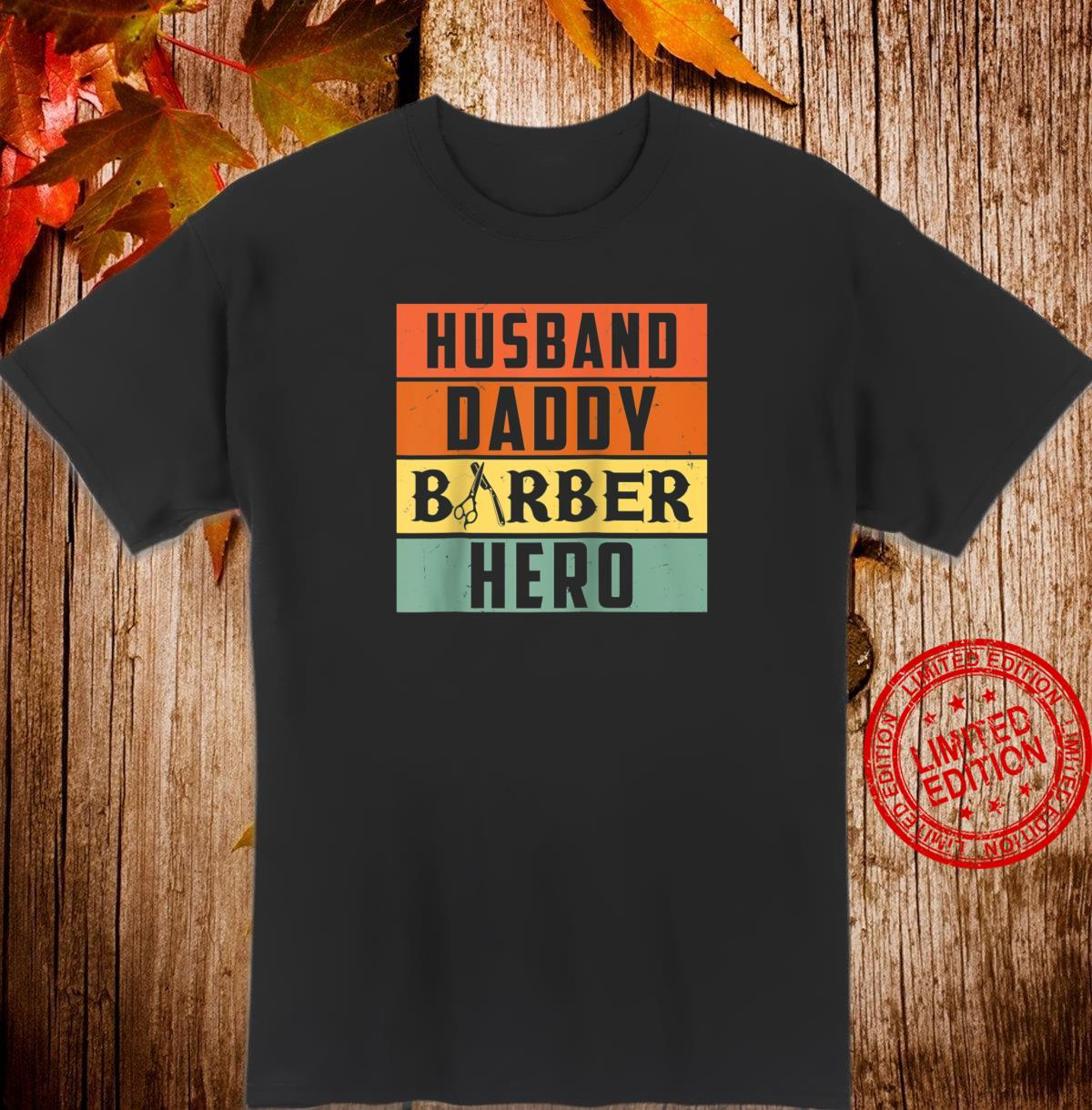 Husband Daddy Barber, Hairstylist Shirt