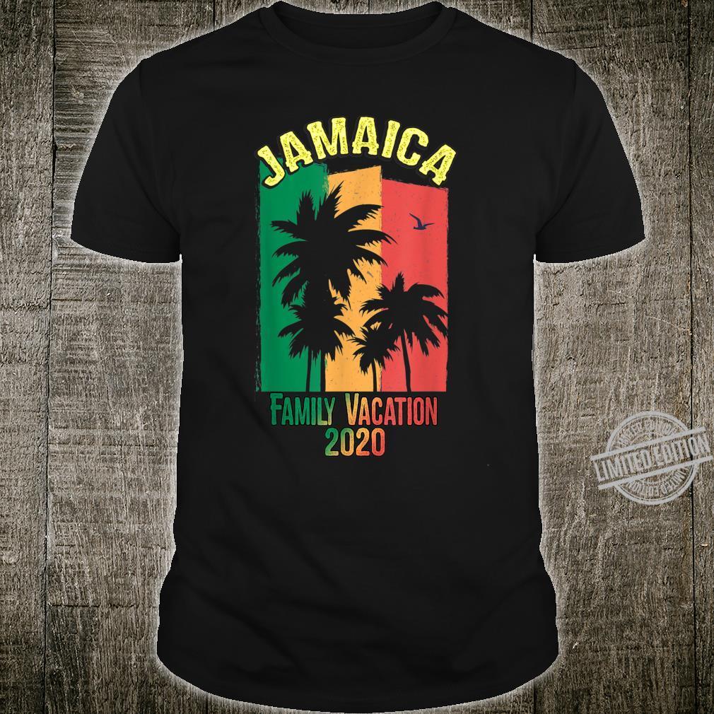 Jamaica Family Vacation Matching Group Reggae Souvenirs Shirt