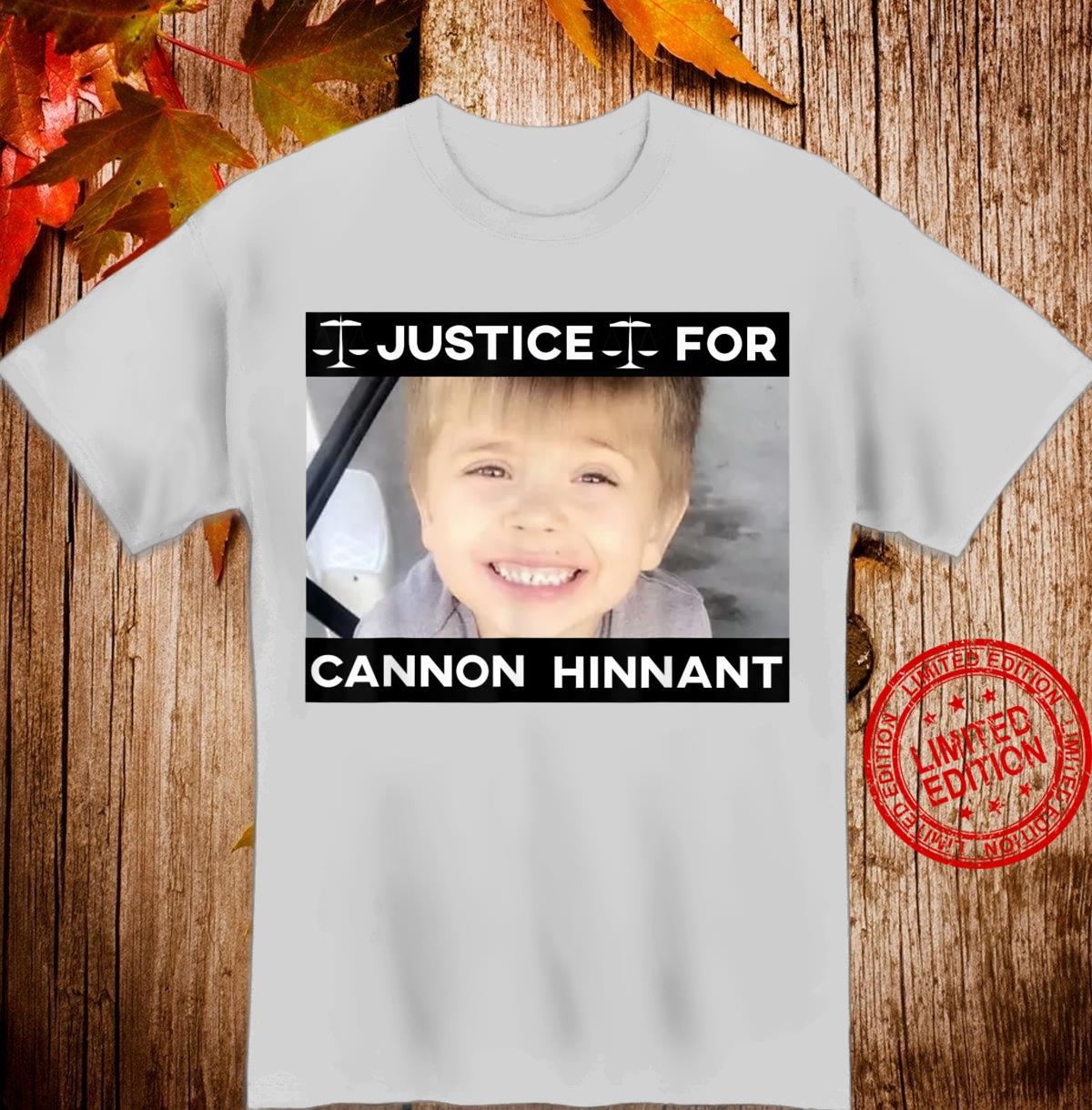 Justice For Cannon Hinnant Shirt