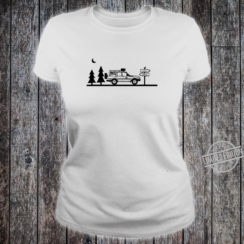 LebenAlltag Camping Offroad Shirt ladies tee
