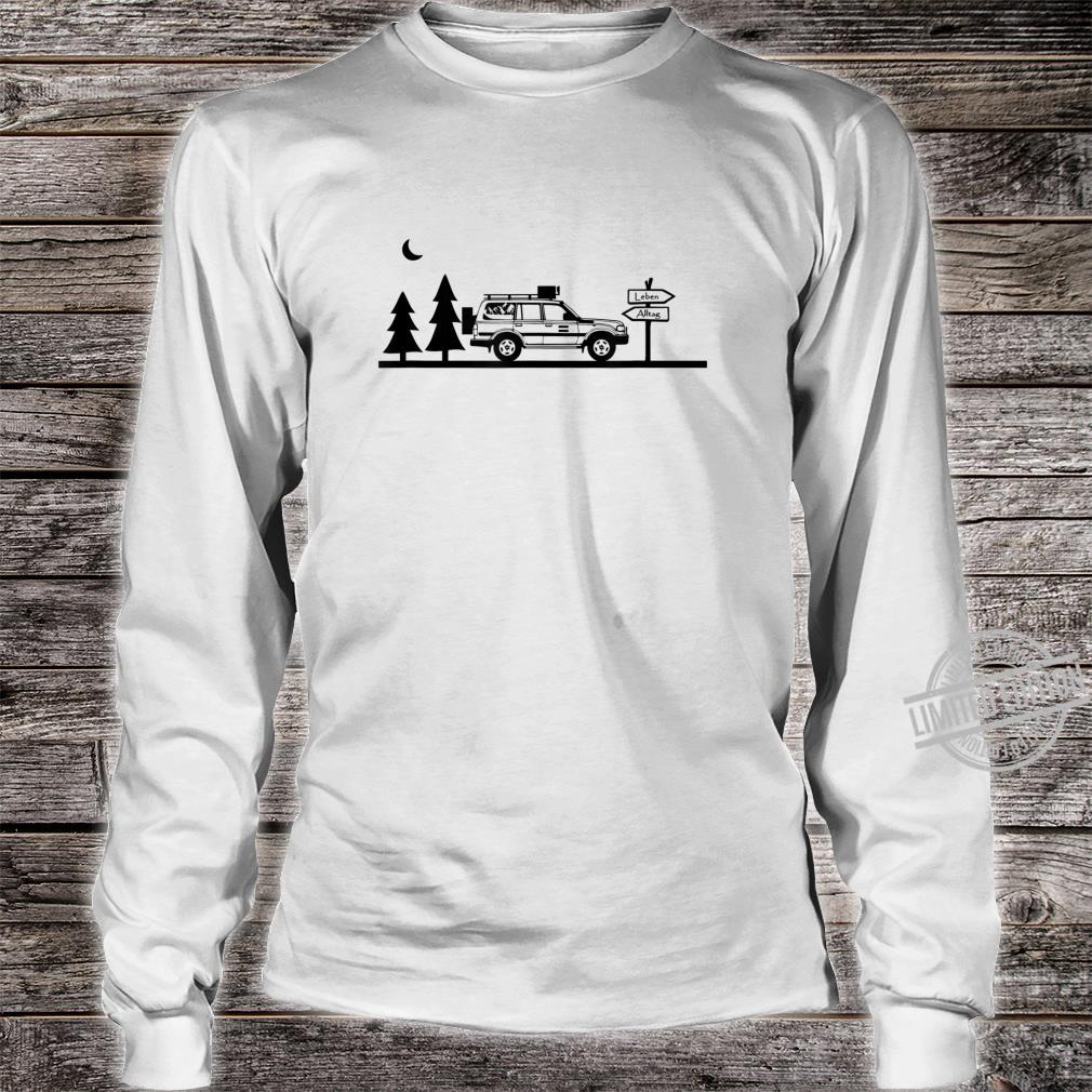 LebenAlltag Camping Offroad Shirt long sleeved