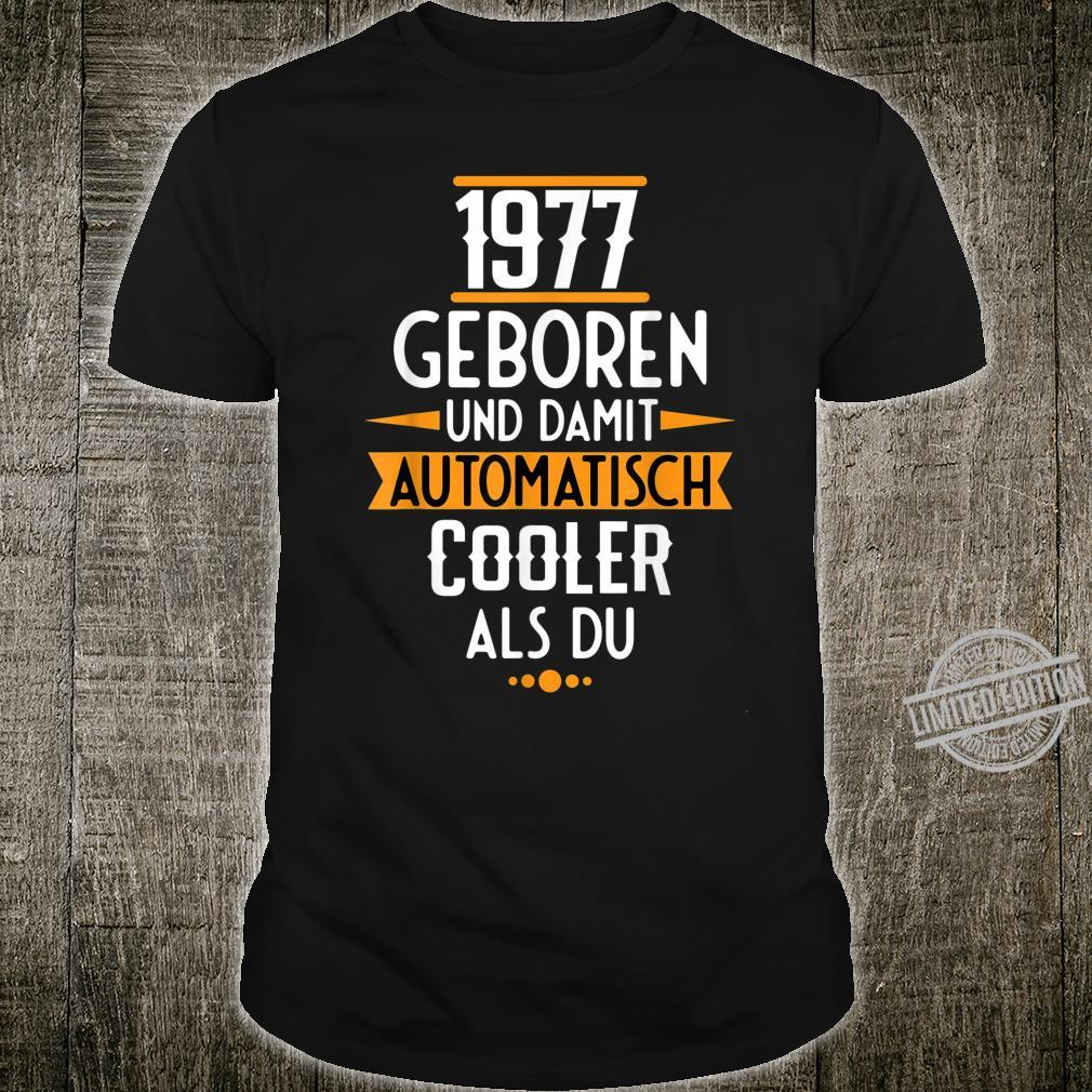 Legendär Seit Jahrgang 1977 43. Jahre Geburtstag Geschenk Shirt