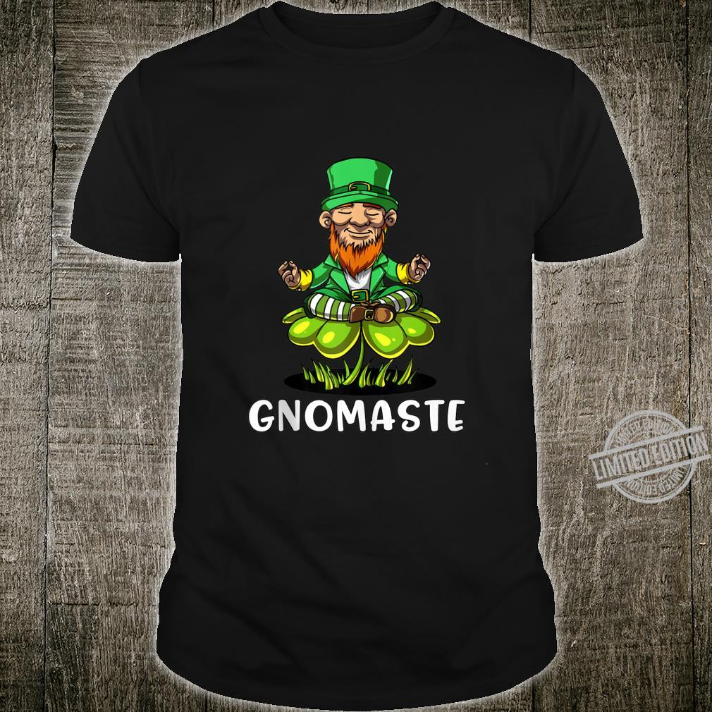 Leprechaun Zen Yoga St Patricks Day Gnomaste Irish Namaste Shirt