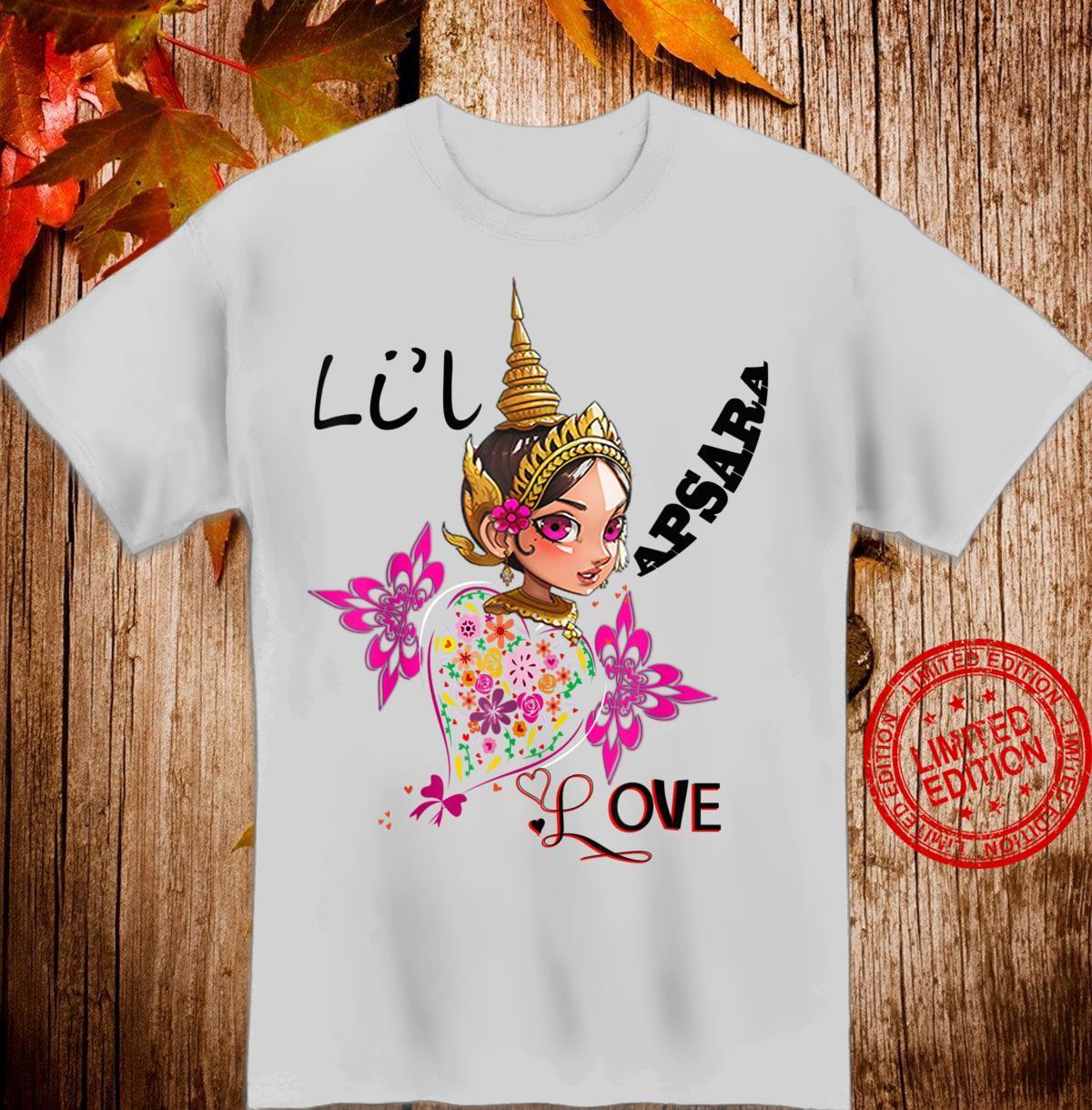 Little Cutie Apsara Khmer Proud Shirt