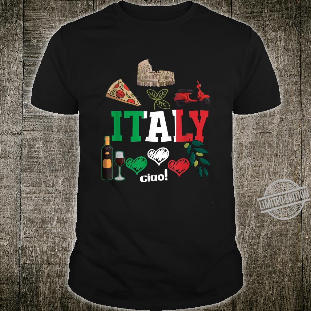 Love Italy and Everything Italian Culture History Food Shirt