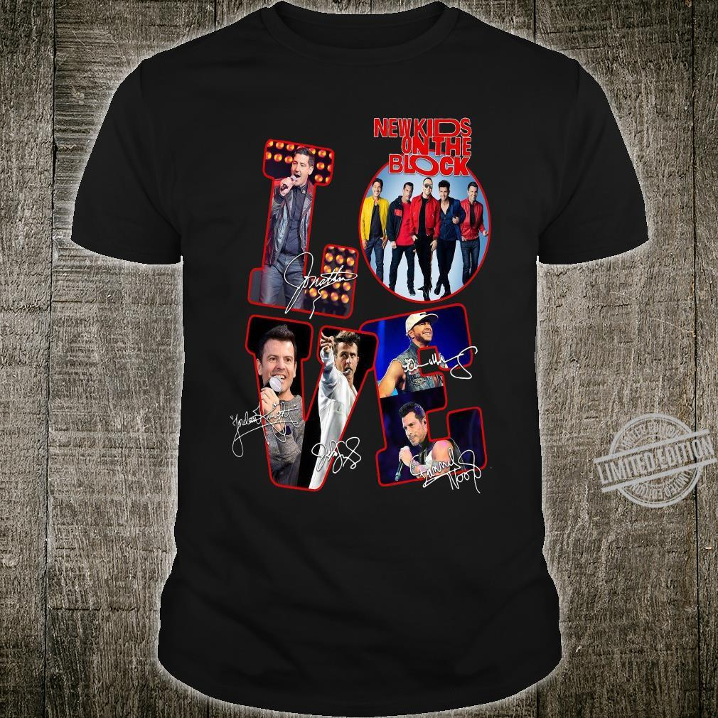 Love NKOTB New Kids On The Block shirt