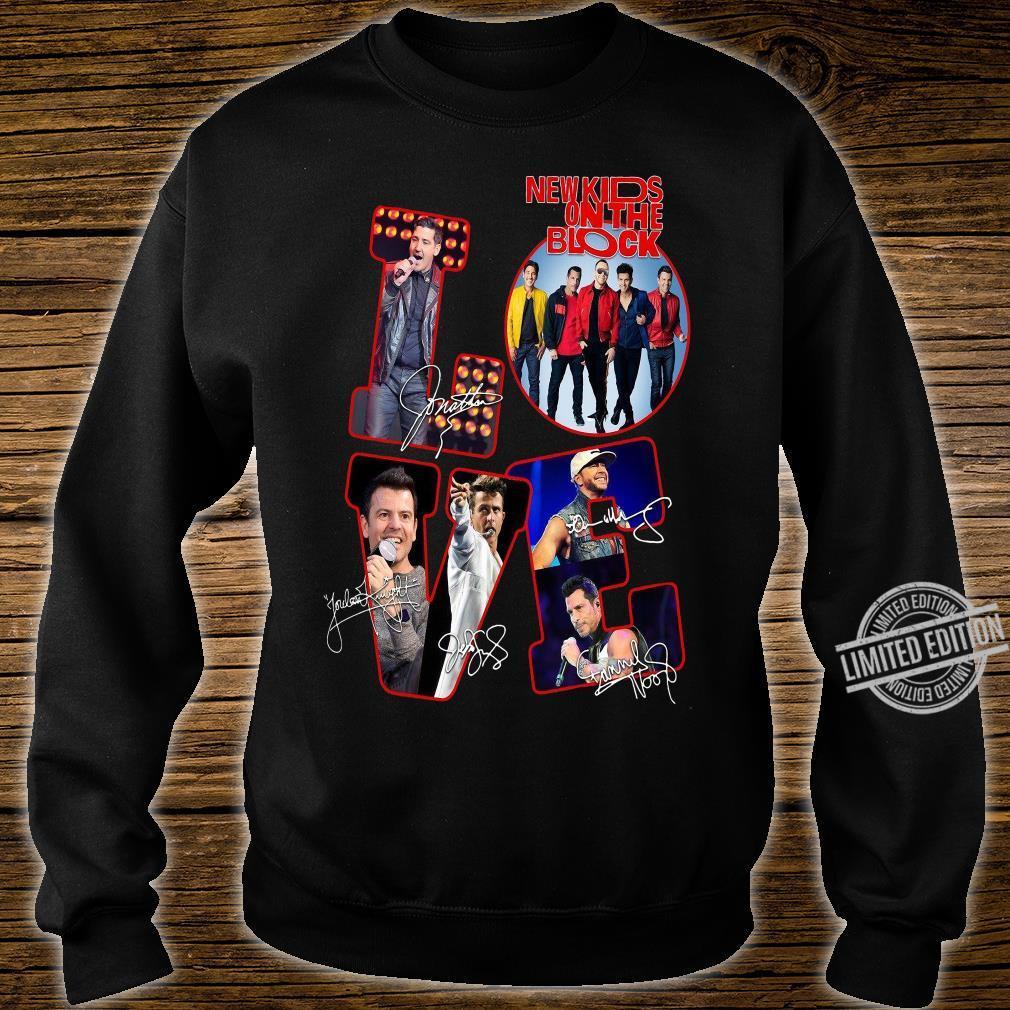 Love NKOTB New Kids On The Block shirt sweater