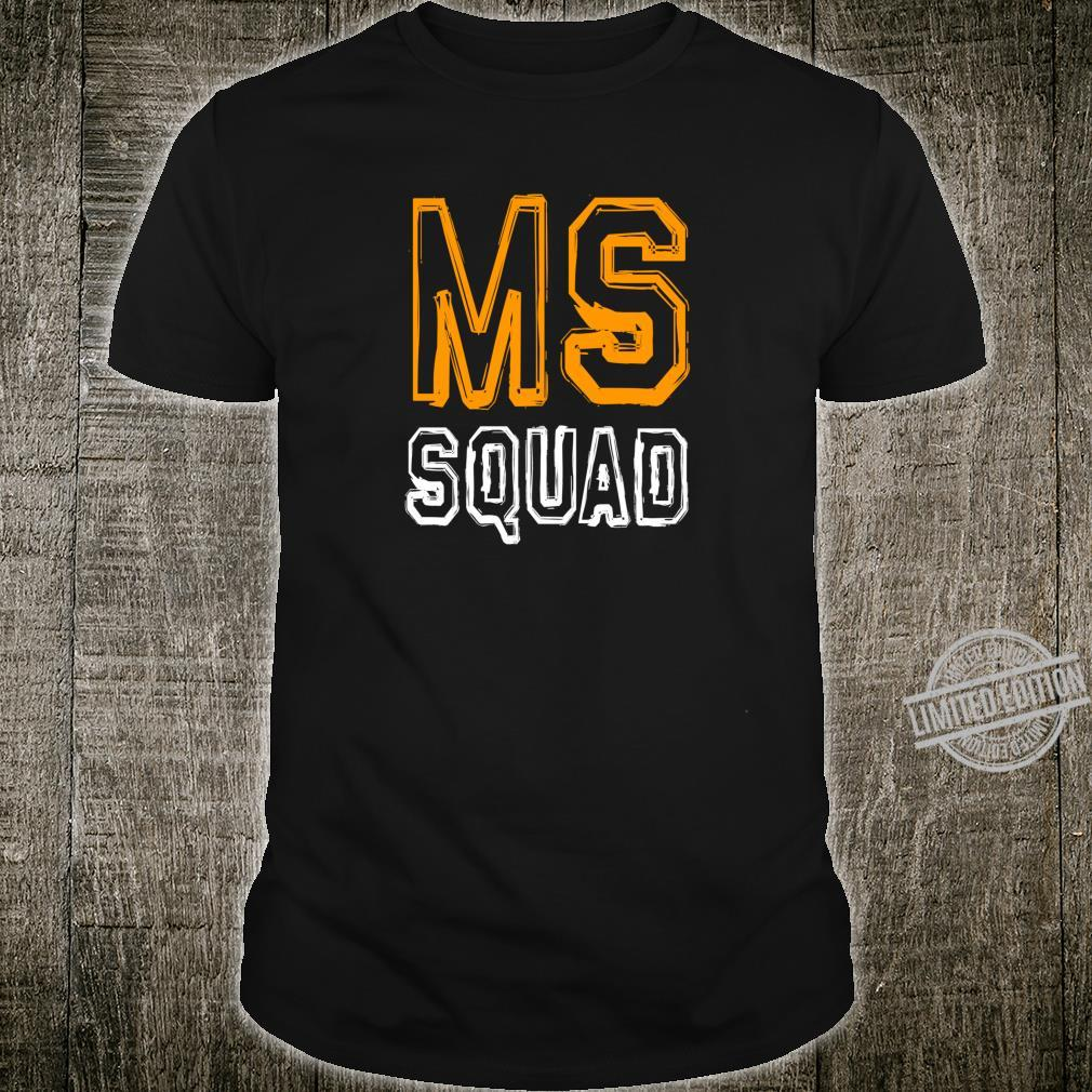 MS Squad Multiple Sclerosis Awareness Shirt