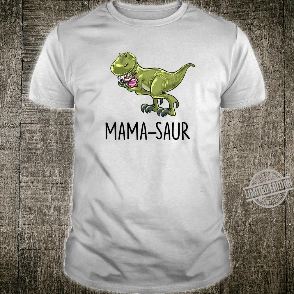 Mamasaur Baking Dinosaur Dino Animal Mother Mom Shirt