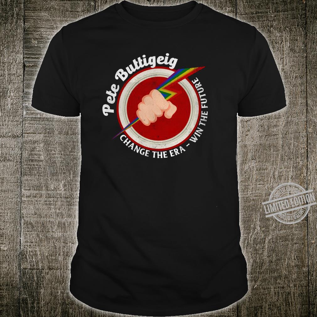 Mayor Pete Buttigieg Gay Pride Retro Flash Pete America 2020 Shirt