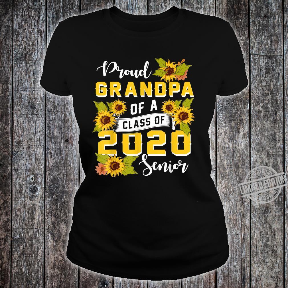 Mens Proud Grandpa Of A Class Of 2020 Senior Graduation Shirt ladies tee