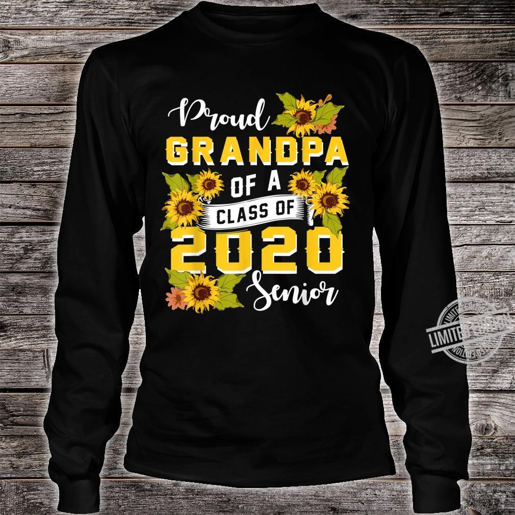Mens Proud Grandpa Of A Class Of 2020 Senior Graduation Shirt long sleeved