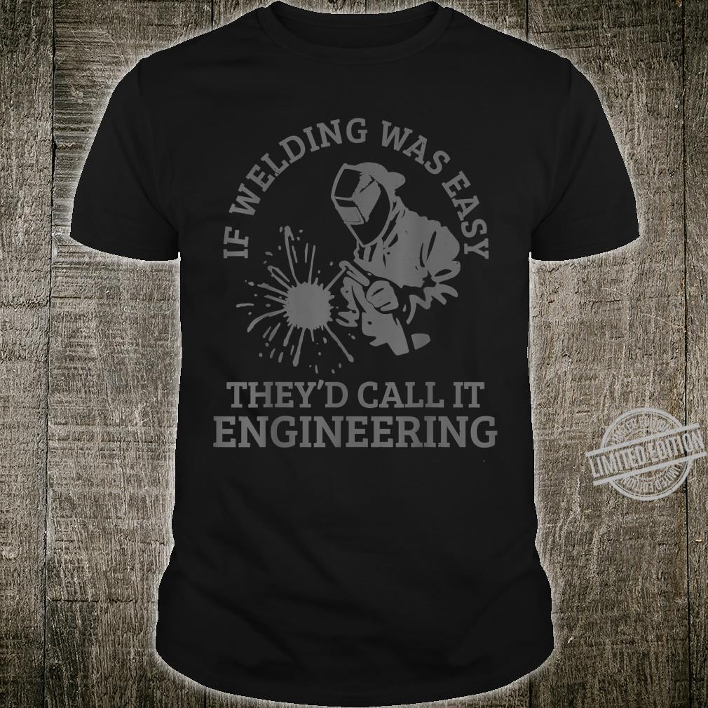 Men's Welder Locksmith Welding Shirt