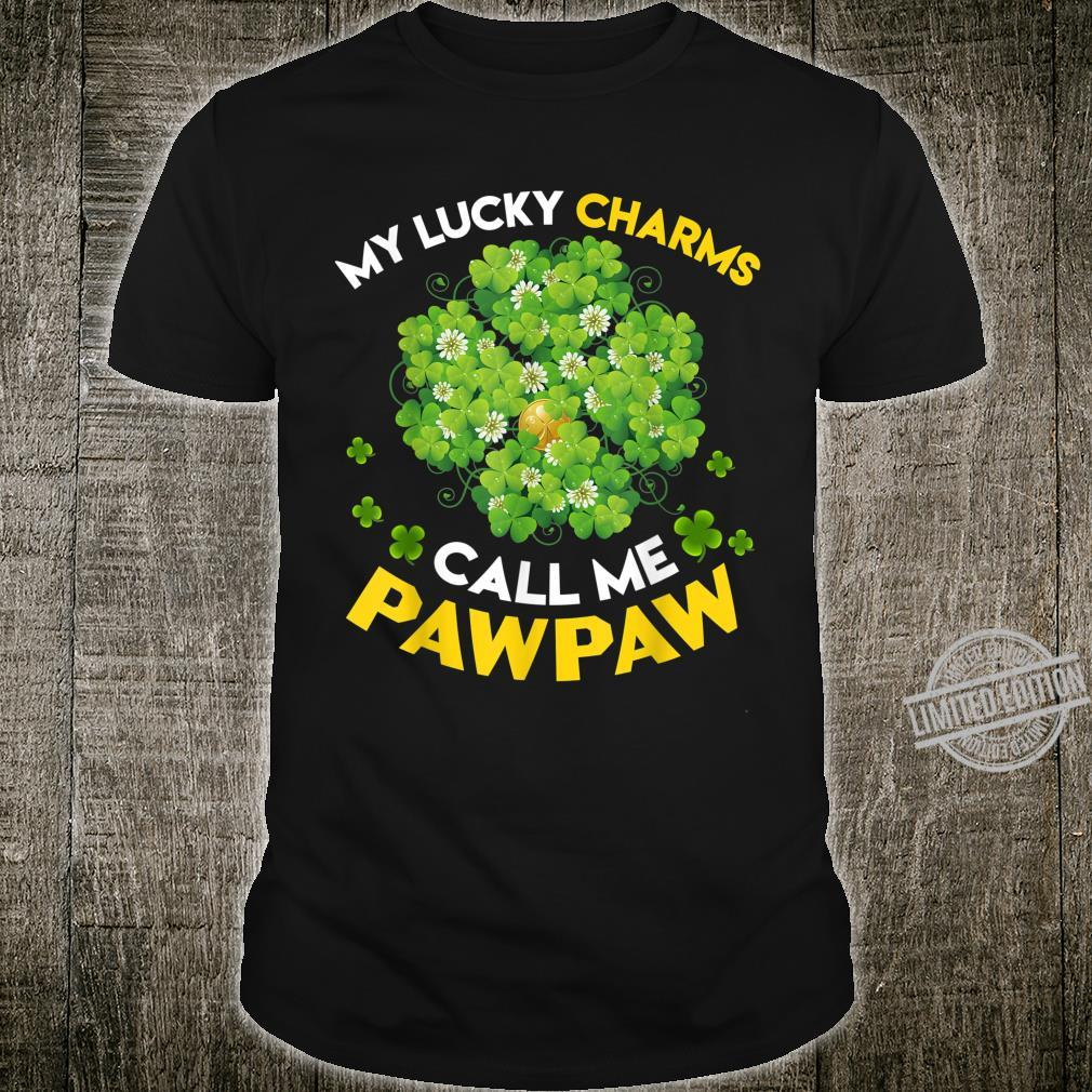 My Lucky Charms Call Me Pawpaw St Patricks Day Shirt