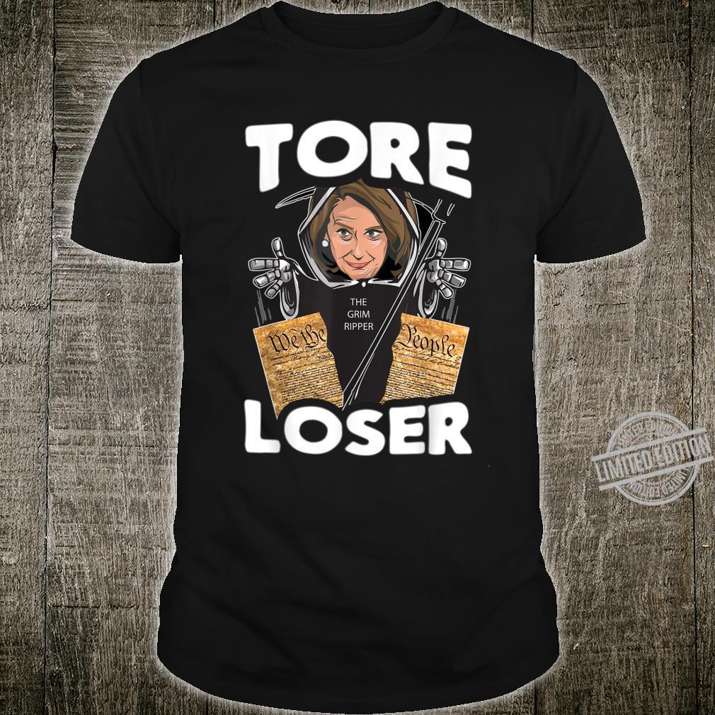 Nancy the Ripper Tore Loser Pelosi Pro Donald Trump Shirt