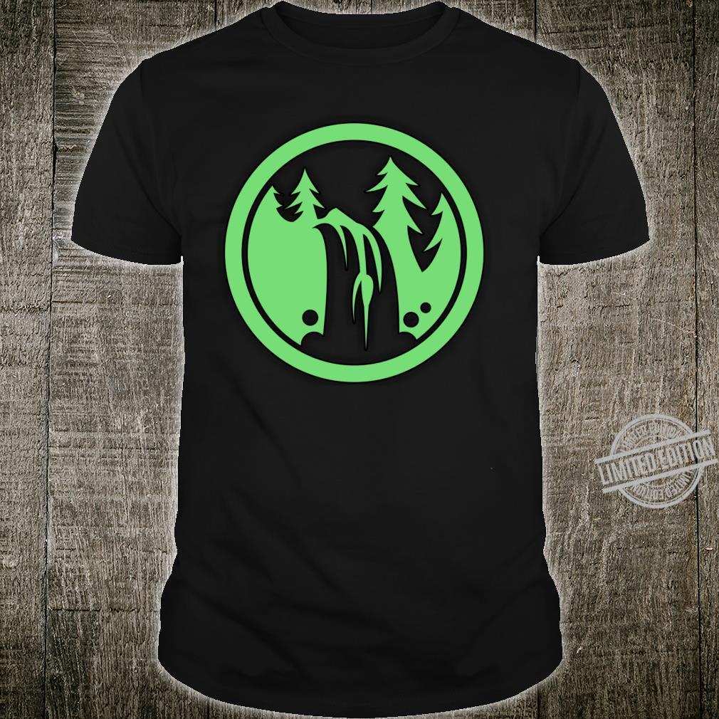 Nature print Lightweight Shirt