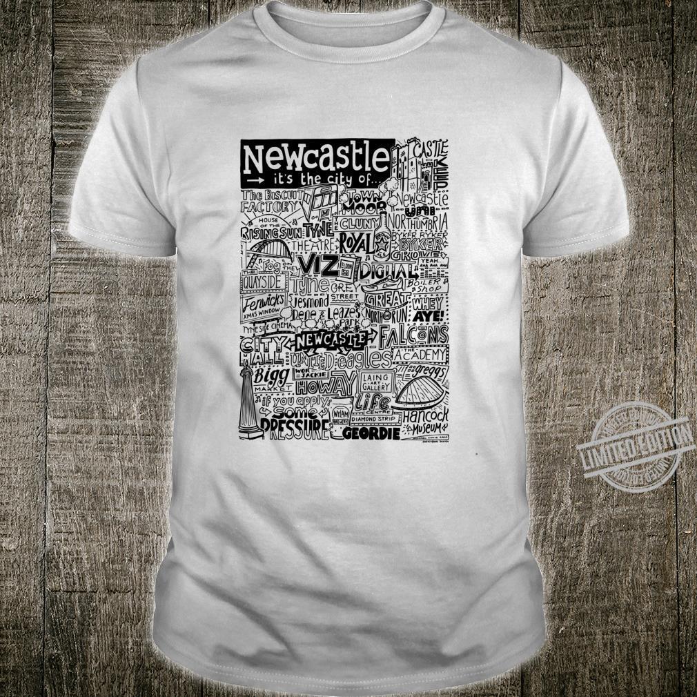 Newcastle typography Shirt