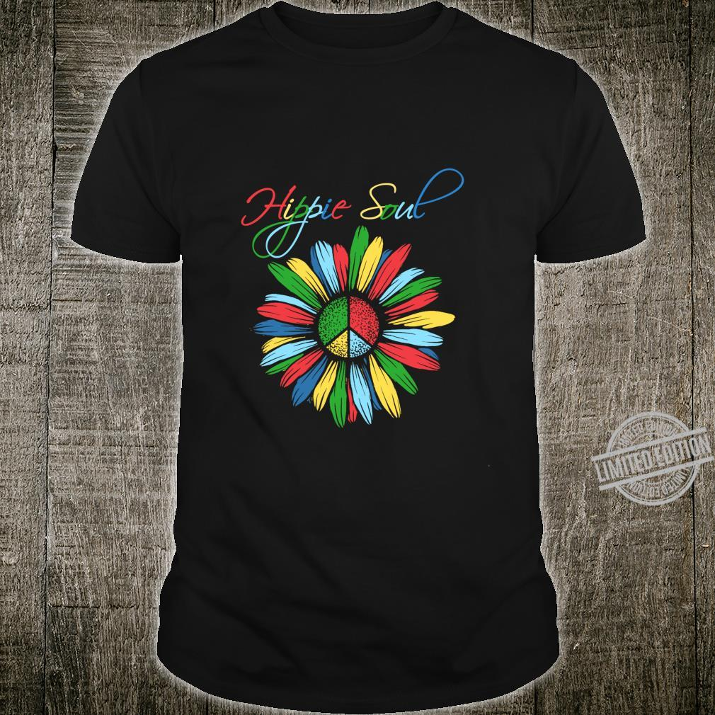 Peace Sign Hippie Soul Flower Daisys Shirt