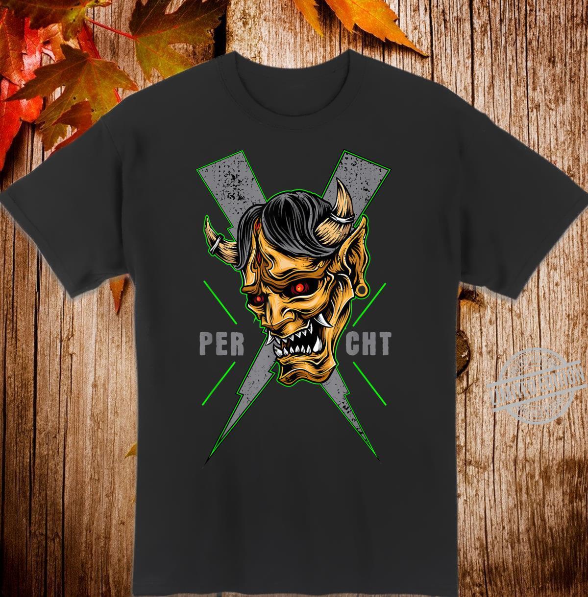 Percht Perchtenverein Perchtenmaske Kostüm Shirt