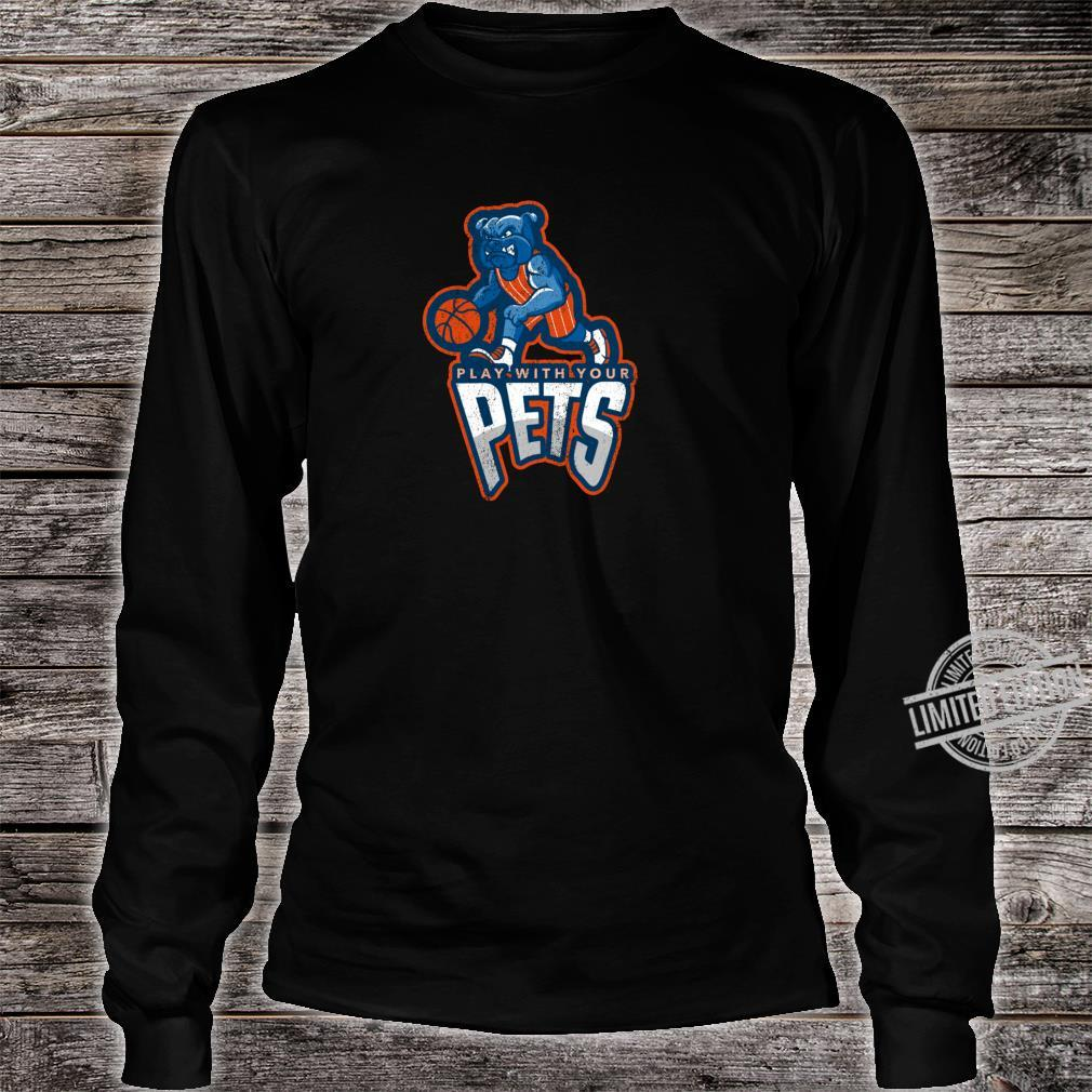 Play With Your Pets Sports Dog Outfit Shirt long sleeved