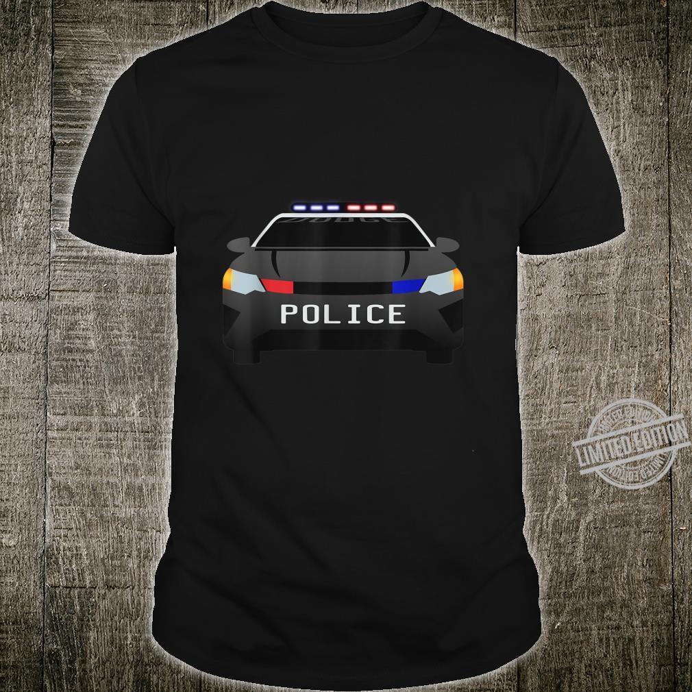 Police car blue light pursuit Shirt
