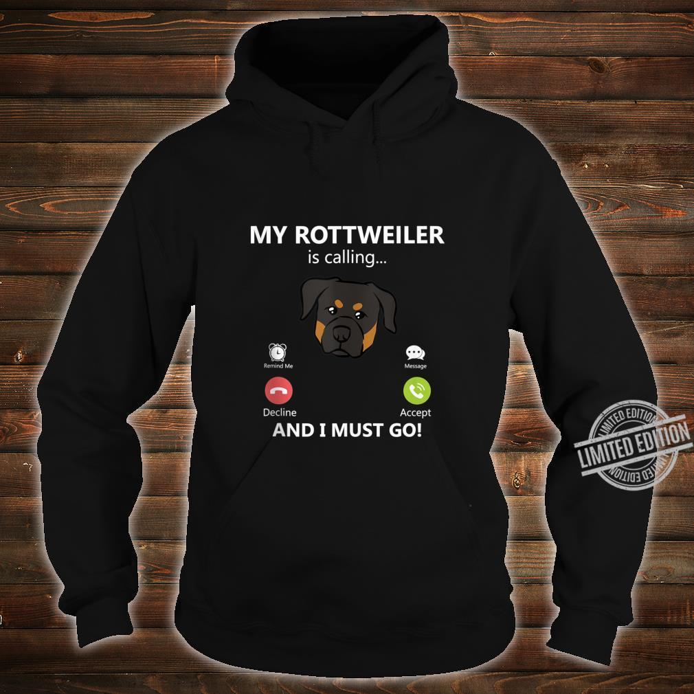 Rottweiler Dog Shirt hoodie