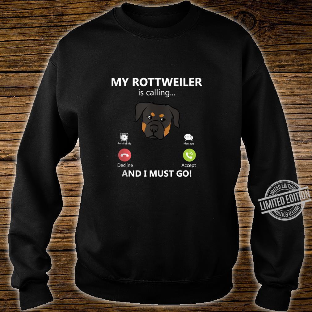 Rottweiler Dog Shirt sweater