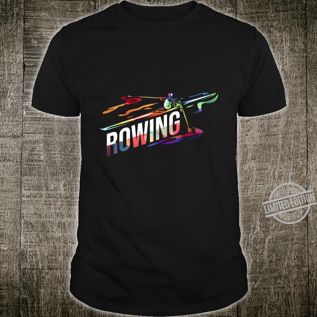 Rowing Sail Boat Shirt