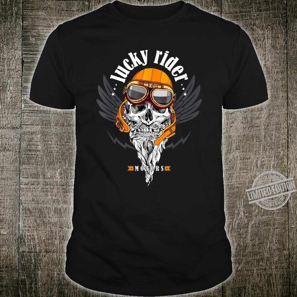 Skull Motorcycle Motors Skull Shirt