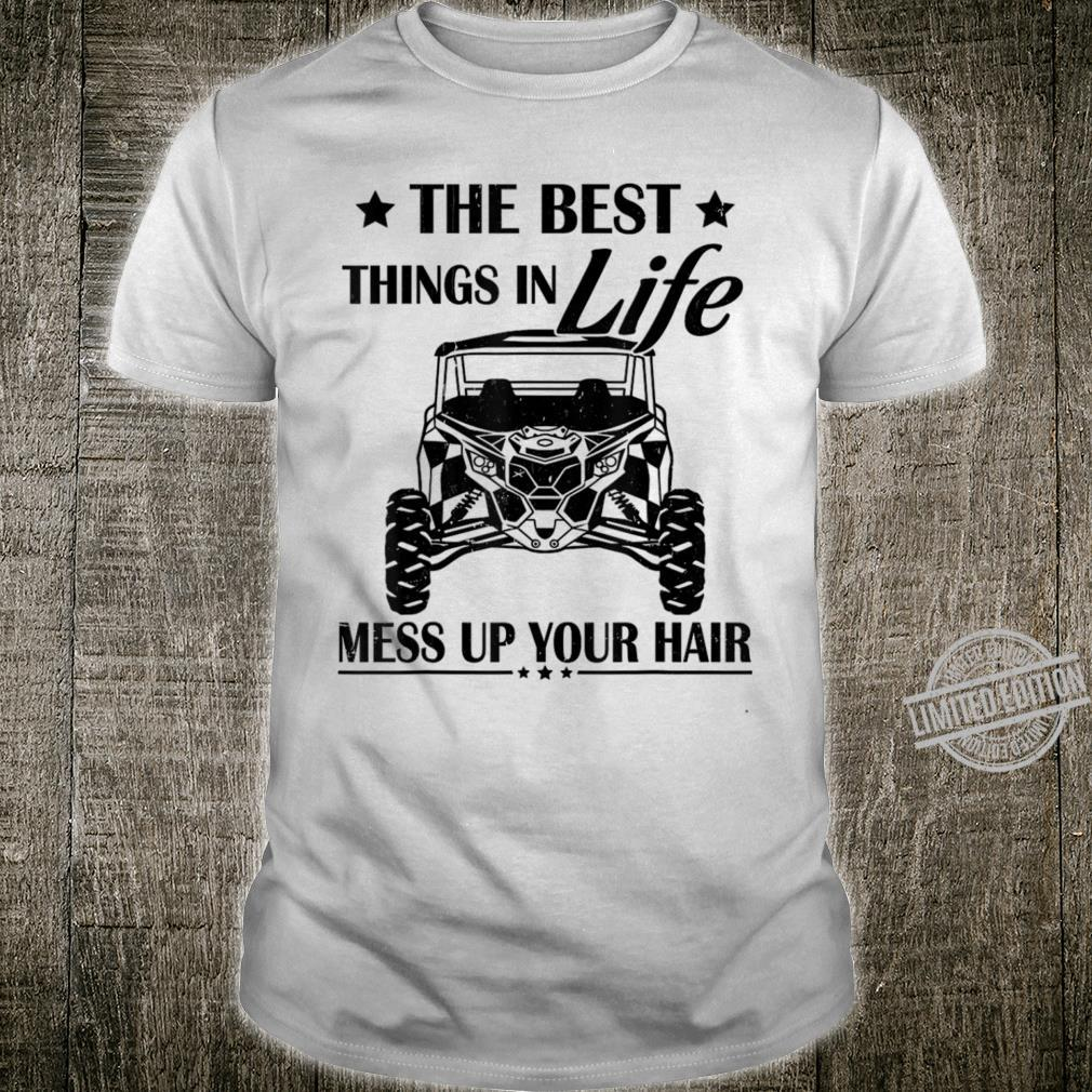 The Best Things In Life Mess Up Your Hair ATV ATV Svg Shirt
