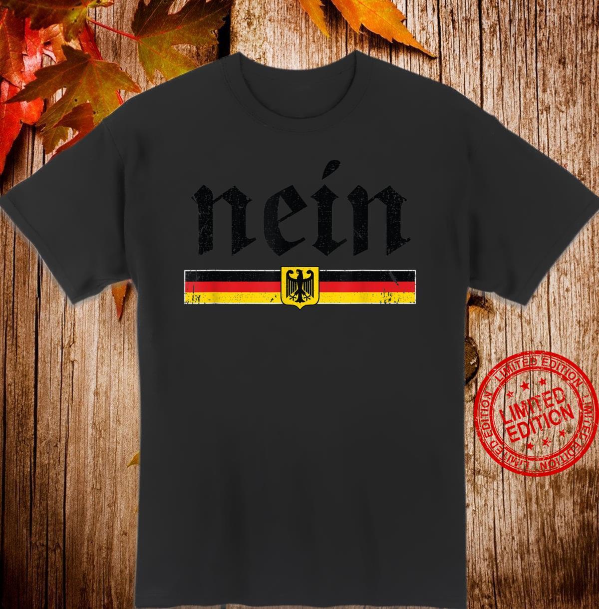 Vintage Nein Shirt German Oktoberfest Shirt
