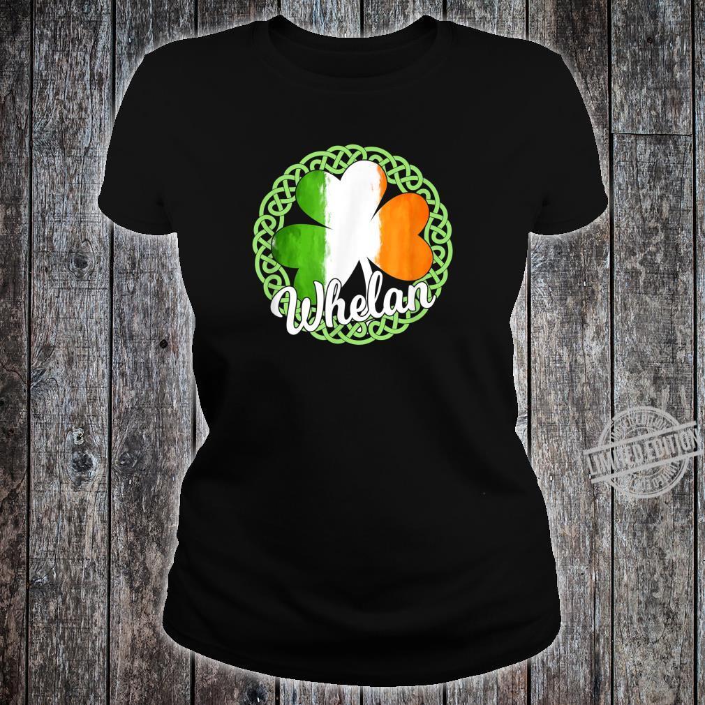 Whelan Irish Family Name Shirt ladies tee