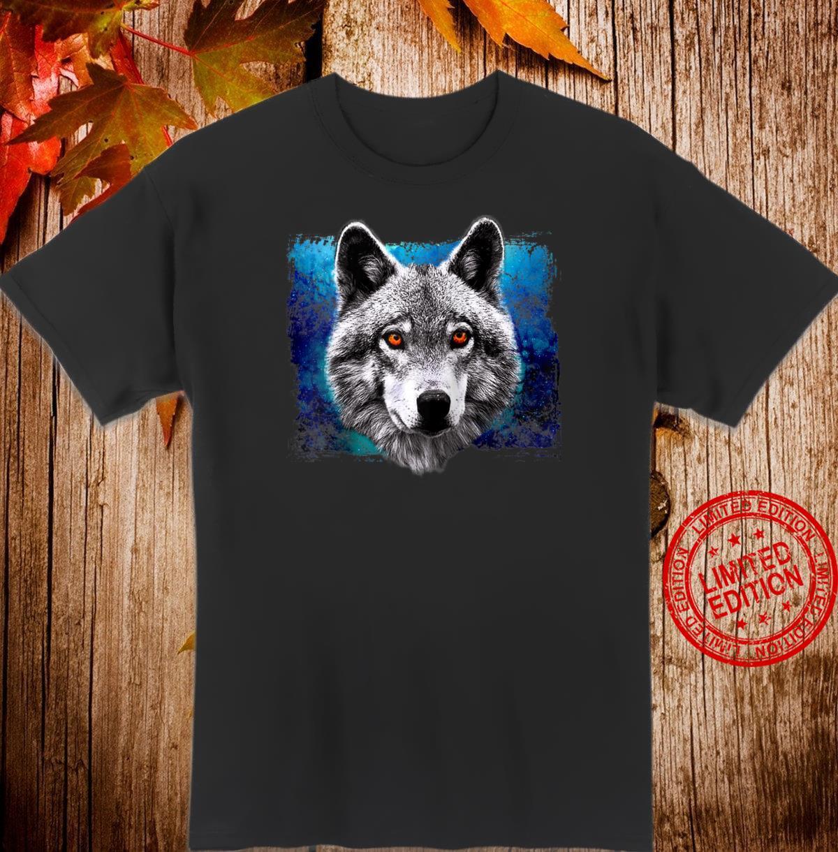Wolf Head Galaxy Shirt